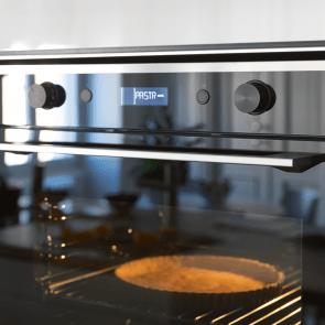 Cuptor electric incorporabil Franke Mythos INOX FMY 99 P XS, negru