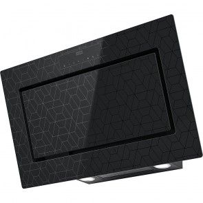 Hota decorativa Franke Mythos FMY 907 MG BK, negru cu elemente grafice
