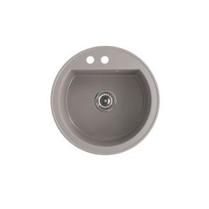 Chiuveta bucatarie granit compozit anticalcar rotunda CasaBlanca RONDO GRI