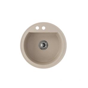 Chiuveta bucatarie granit compozit anticalcar rotunda CasaBlanca RONDO SAND