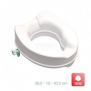 Inaltator vas WC pentru persoane cu dizabilitati Metaform Safe Medium 101H13004, alb