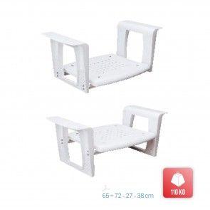 Scaun reglabil cada baie pentru persoane cu dizabilitati Metaform Comfort Line 101308602