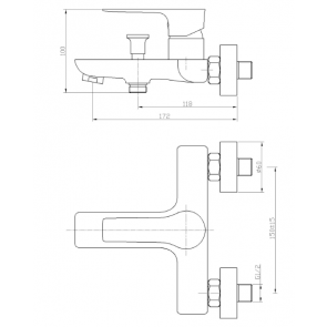 Baterie cada CasaBlanca LAVEO ALB-CROM BLV1-A