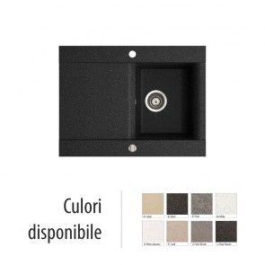 Chiuveta bucatarie granit compozit anticalcar 1 cuva si un picurator VOGA / VANESSA