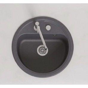 Chiuveta bucatarie granit compozit anticalcar 1 cuva rotunda VASK / VERONA
