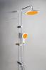Coloana de dus cu doua functii, anticalcar Metaform FLOWER Orange