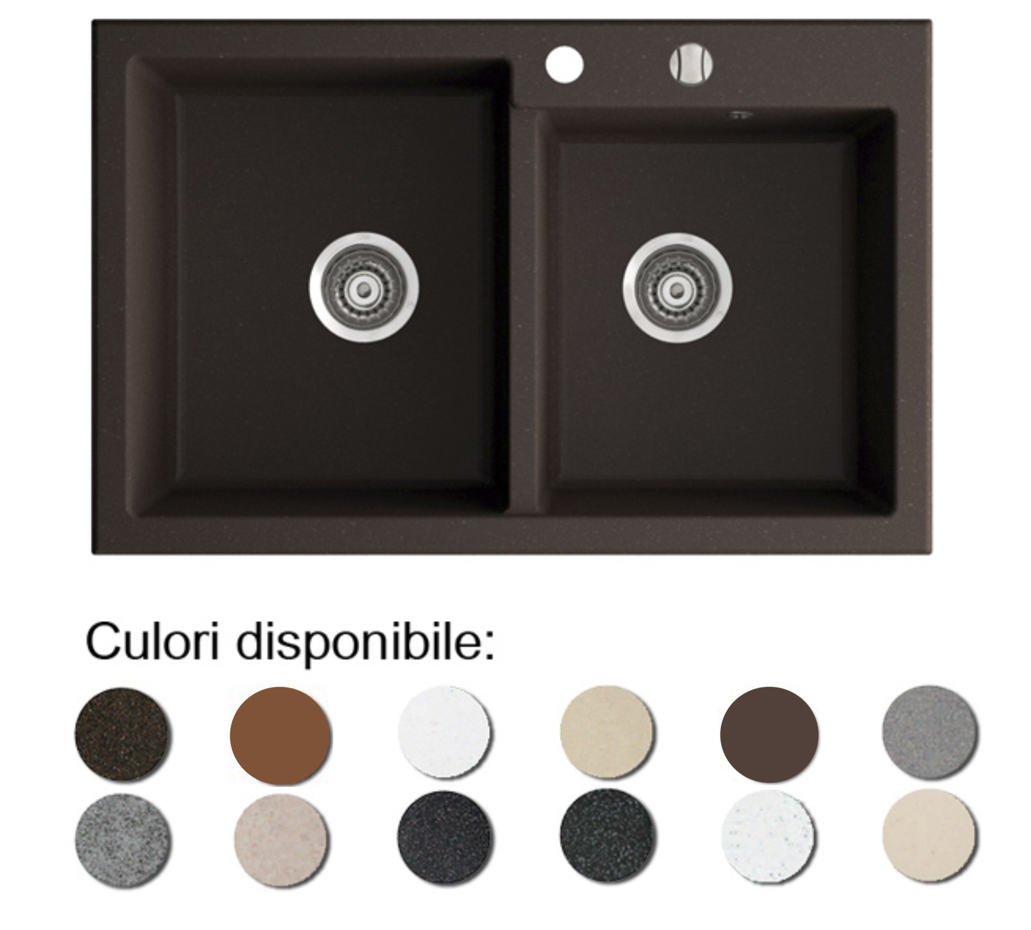 Chiuveta Bucatarie Granit Compozit Anticalcar Cuve Poza
