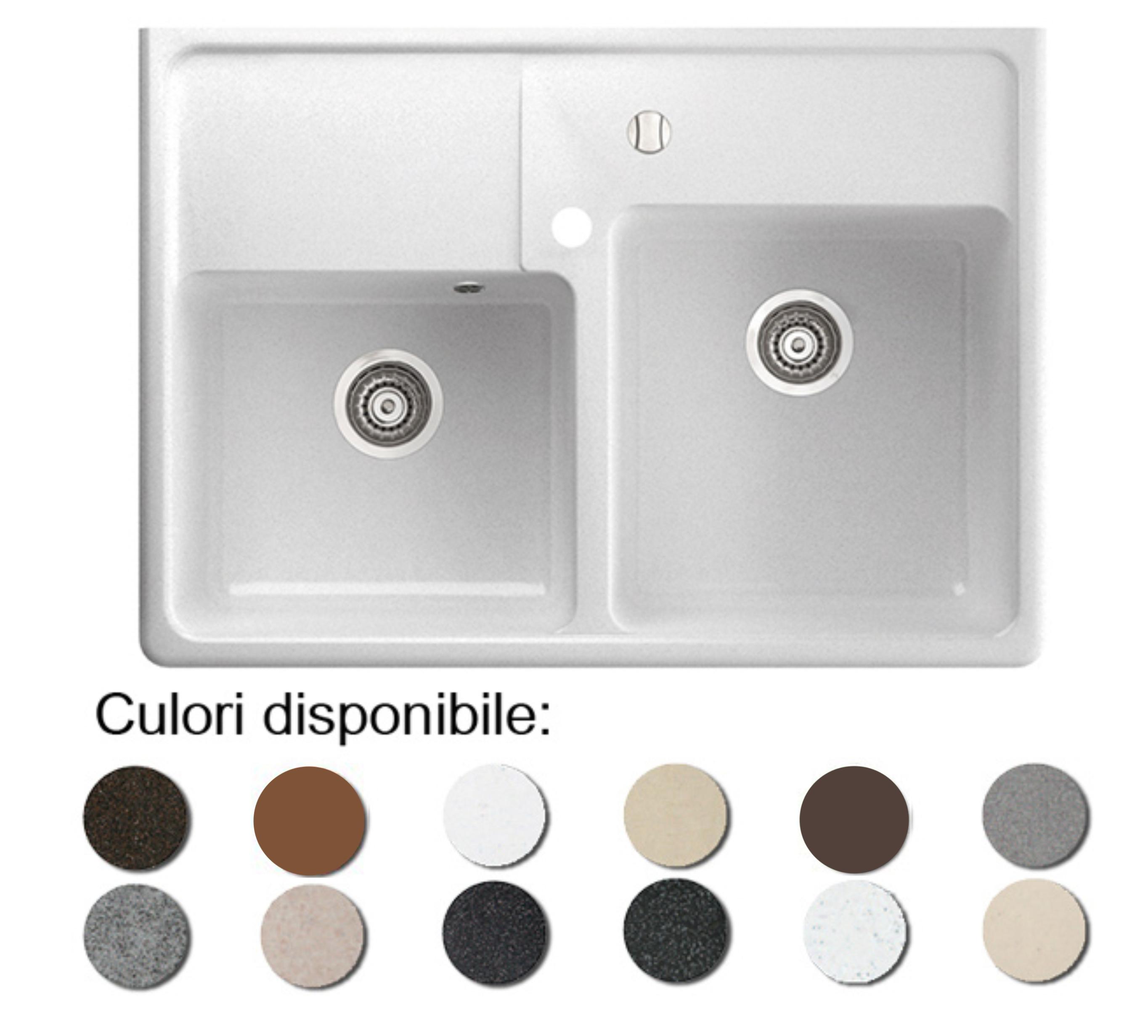 Chiuveta Bucatarie Granit Compozit Anticalcar - 5557