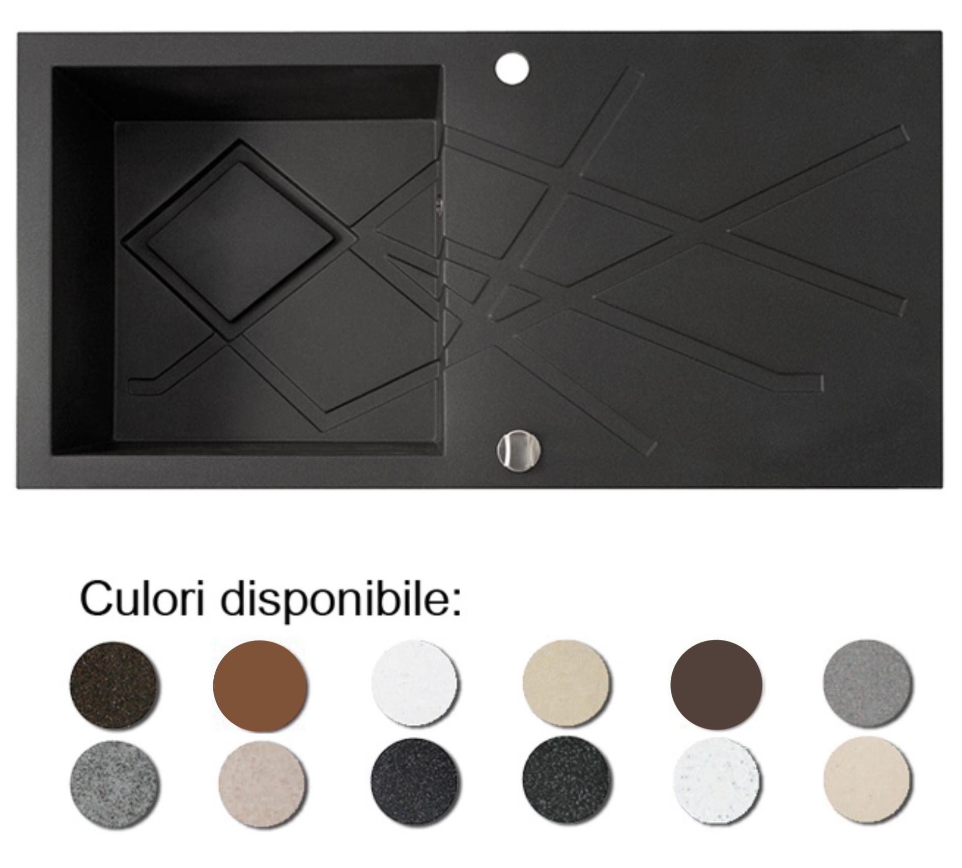 Chiuveta Bucatarie Granit Compozit Anticalcar Cuva Picurator Poza