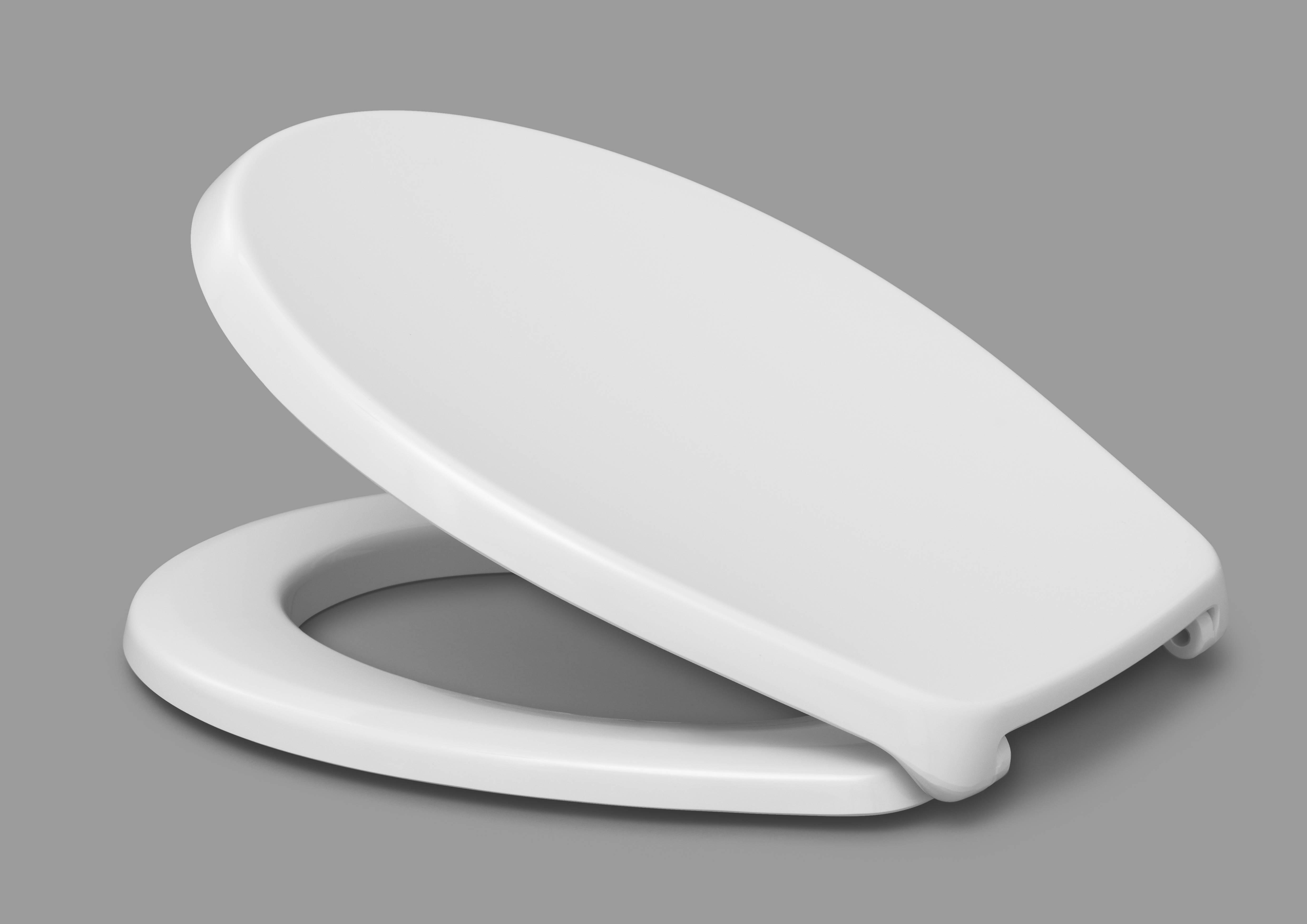 Capac WC HARO Duroplast PICO alb, sistem prindere inox FastFix