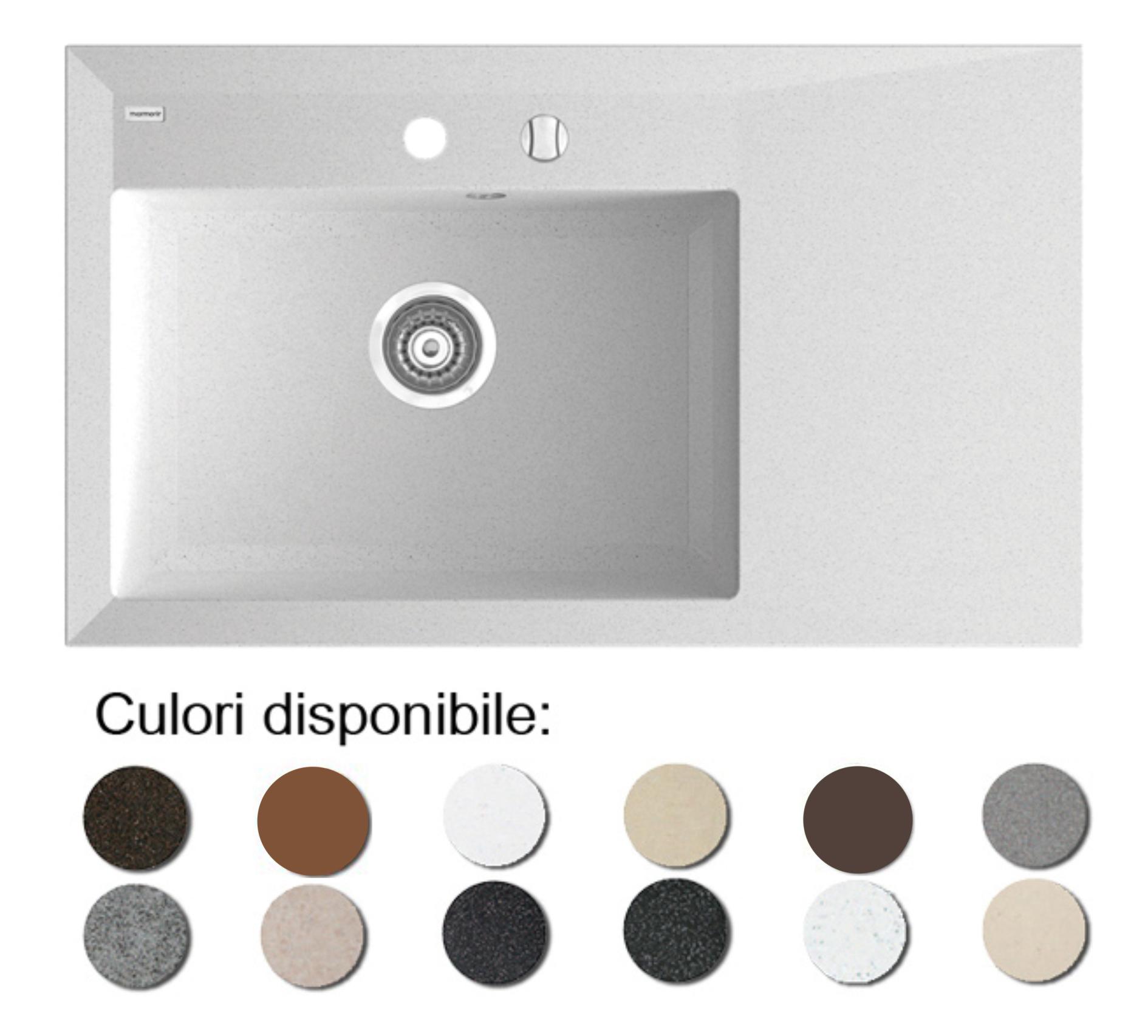 Chiuveta Bucatarie Granit Compozit Anticalcar Cuva Picurator Chiuvete Ilustratie