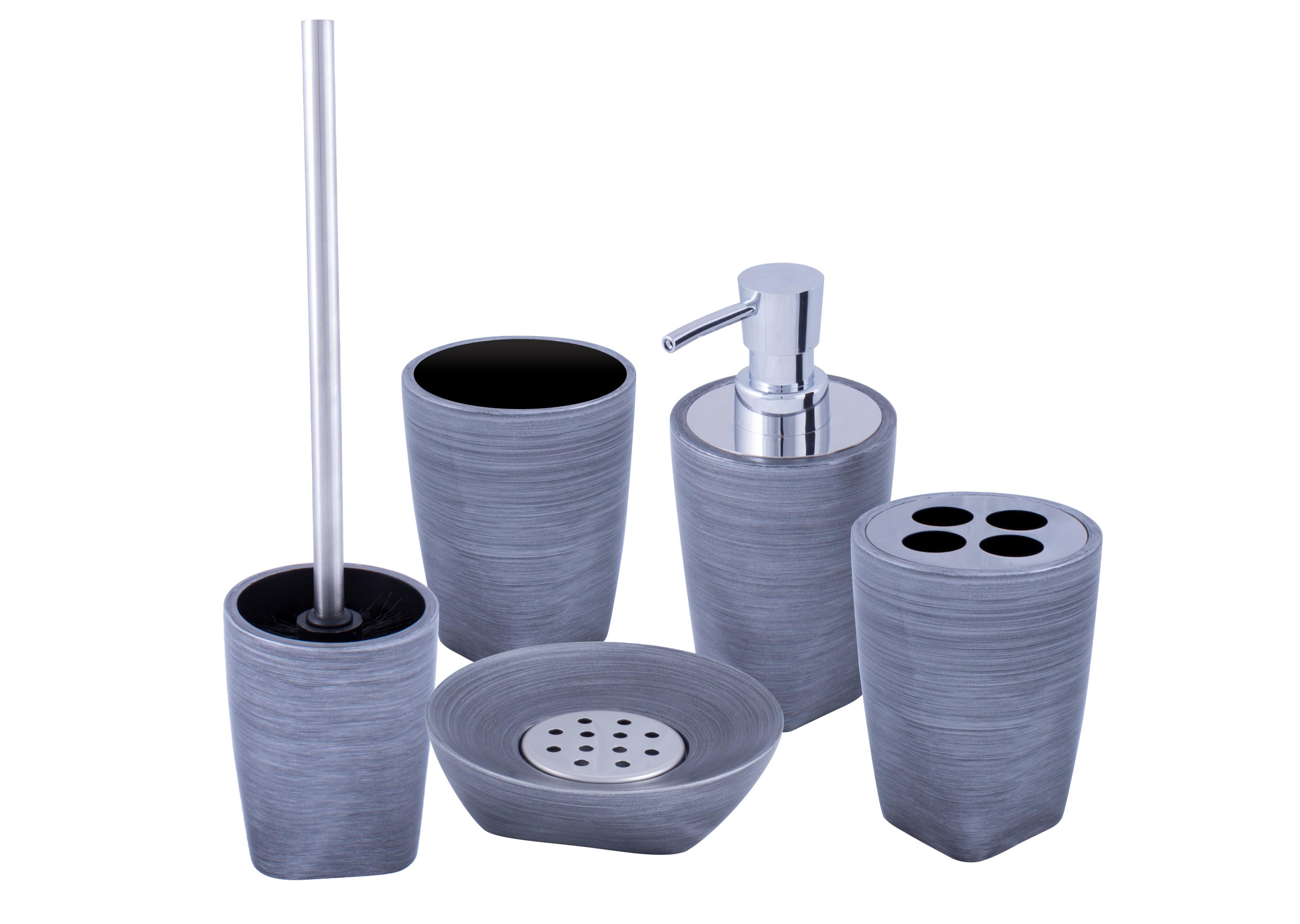Set de accesorii pentru baie AWD LAVA imagine