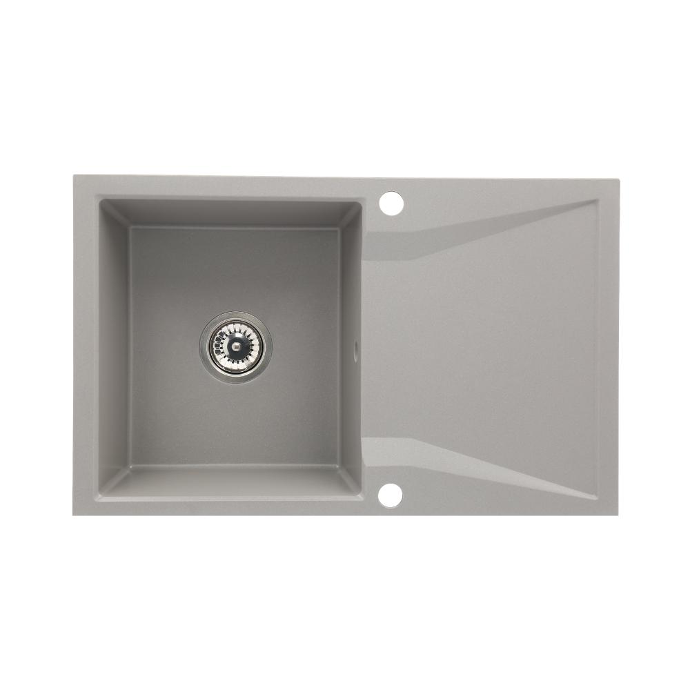 Chiuveta bucatarie granit 1 cuva si picurator CasaBlanca NERA GRI
