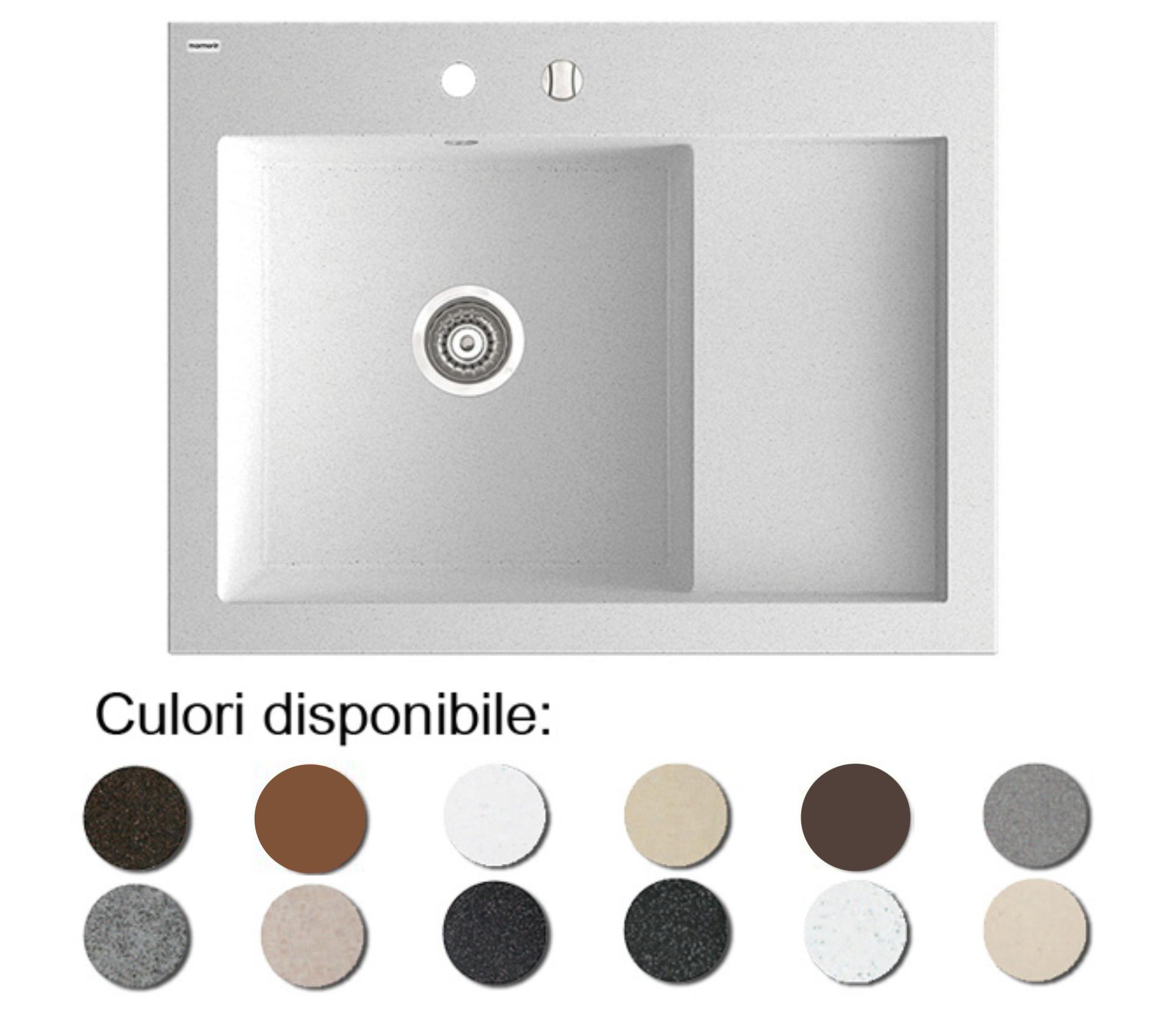 Chiuveta Bucatarie Granit Compozit Anticalcar Cuva - 6387
