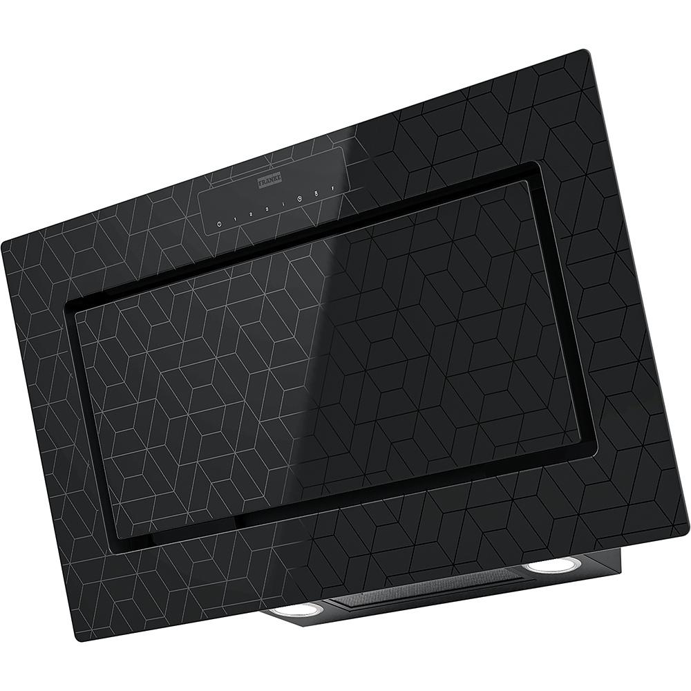 Poza Hota decorativa Franke Mythos FMY 907 MG BK, negru cu elemente grafice