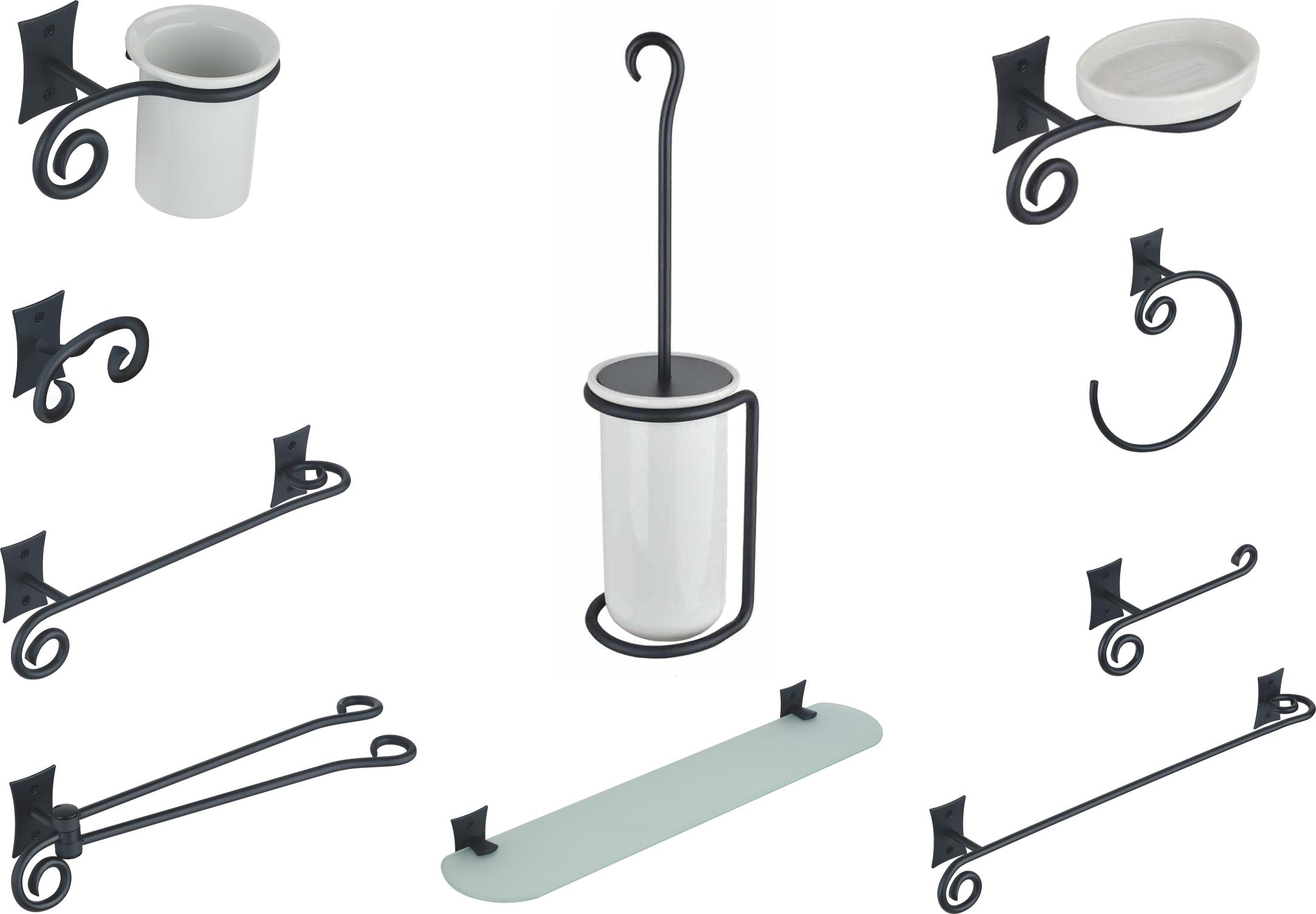 Set de accesorii pentru baie Metaform REBECCA Retro