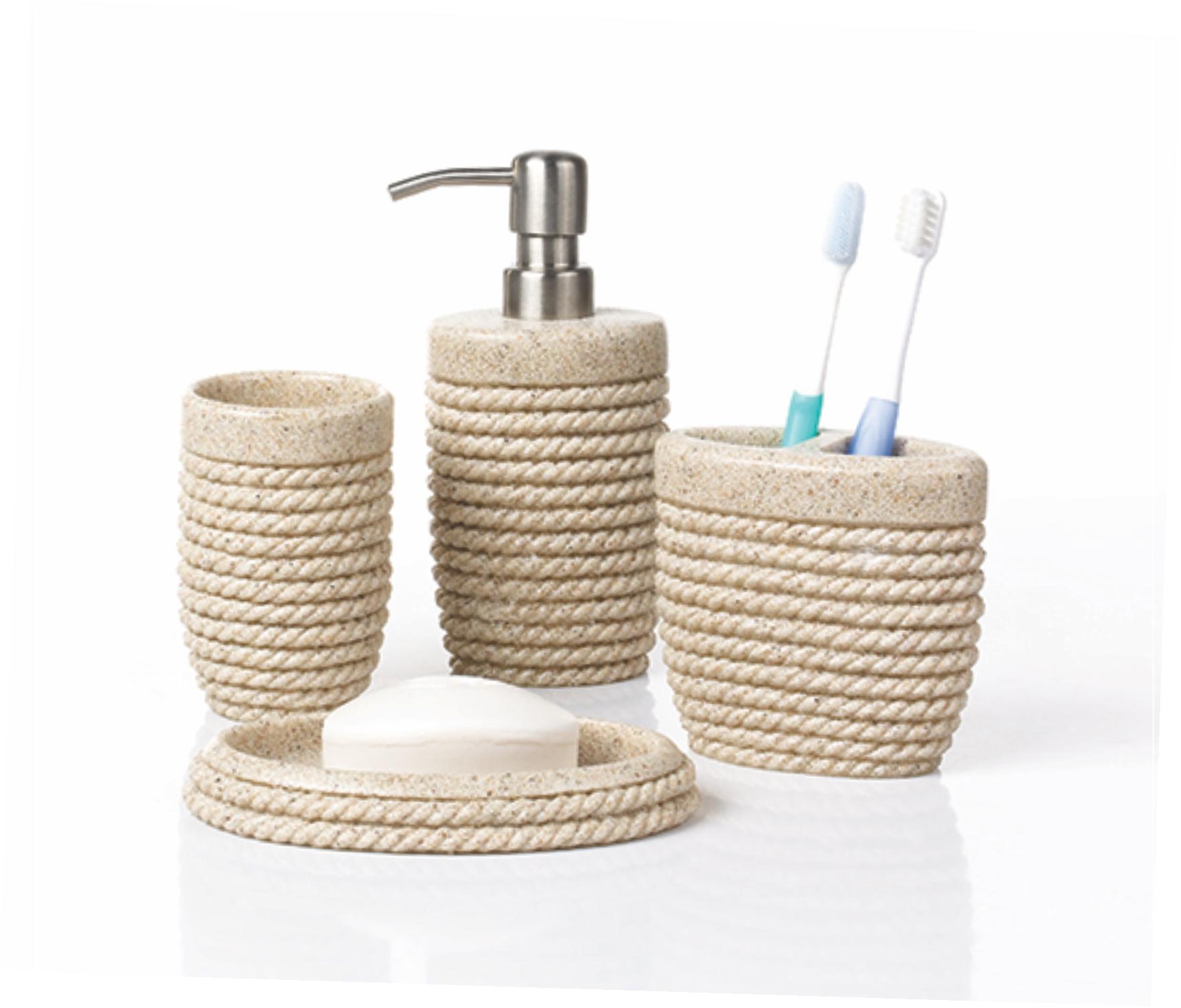 Set de accesorii pentru baie Hypo ROPE