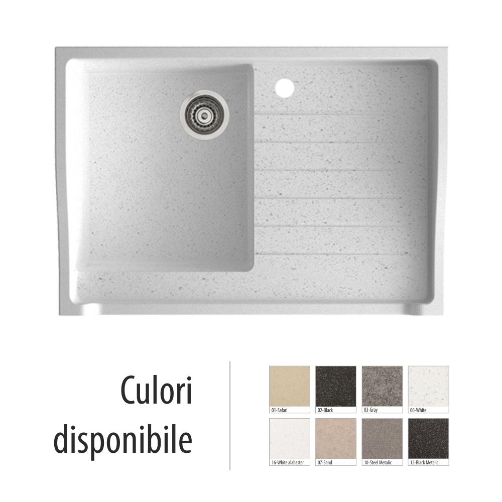 Chiuveta Bucatarie Granit Compozit Anticalcar Cuva - 5188